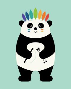 Be Brave Panda
