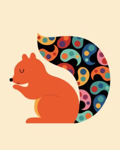 Paisley Squirrel